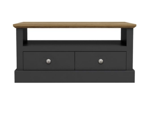 AXE 97 Coffee Table ( oak/charcoal ) By Denelli
